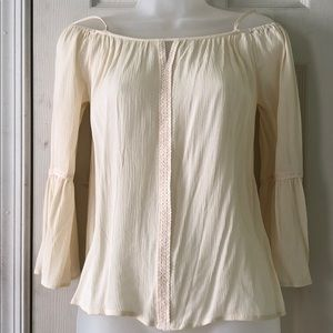 Off white off shoulder nwt blouse.